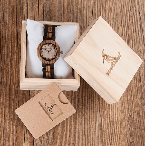 coffret montre en bois