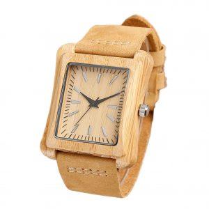 montre pour homme en bois