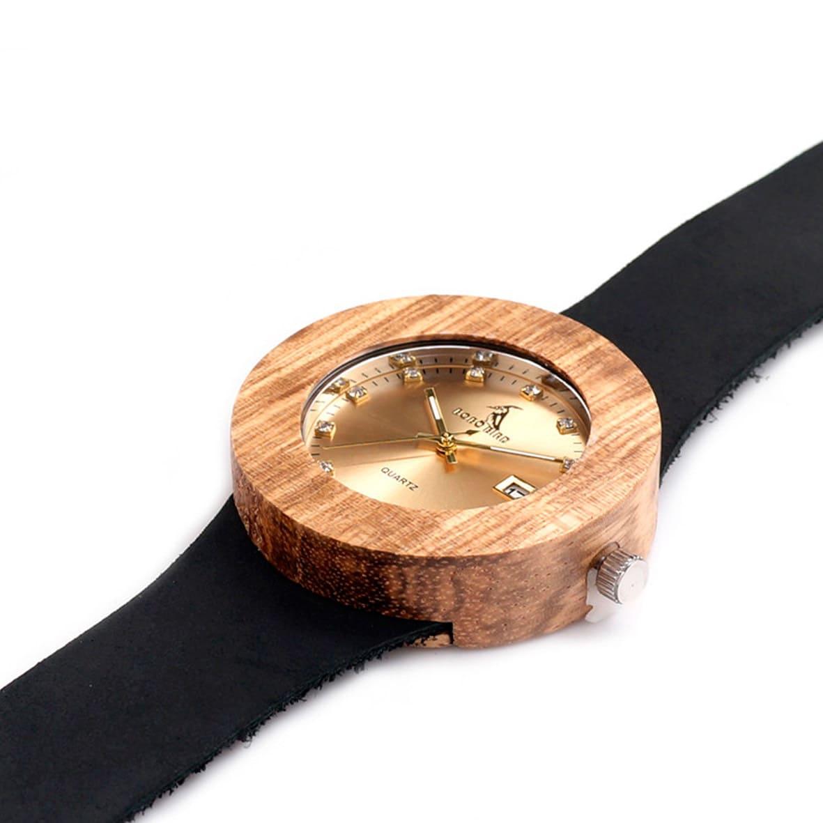 montre pas cher en bois