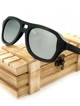 Lunettes en bois polarisés