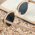 lunettes de soleil bois