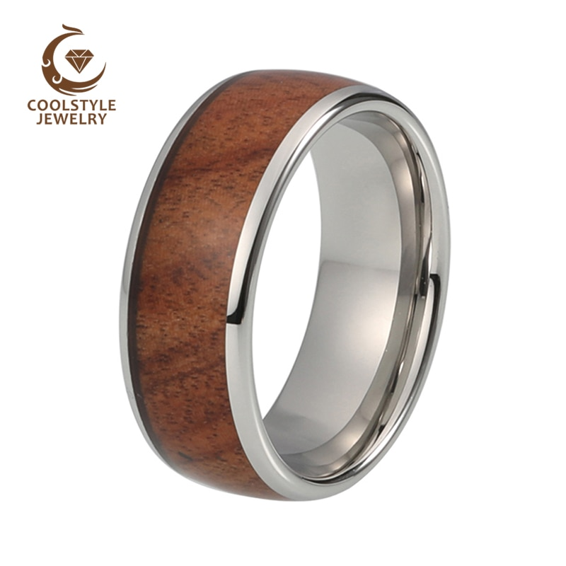 8mm-Tungsten-Carbide-Wedding-Ring-For-Men-Women-Koa-Wood-Inlay-Dome-Engagement-Anniversary-Comfort-Fit-3.jpg