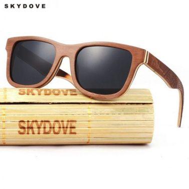 lunette en bois navy