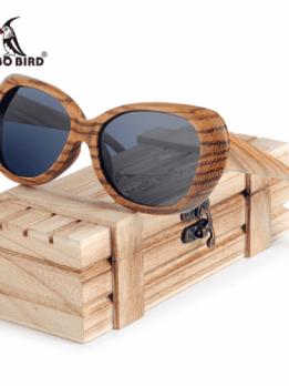lunette de soleil bois femme