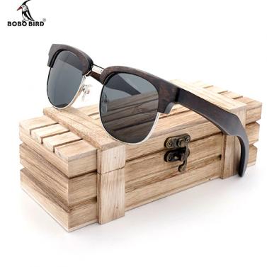 lunette en bois retro