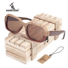 lunette de soleil bambou