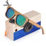 lunettes de soleil en bois enfant
