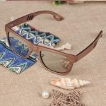 lunettes en bois polarisées