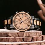 Montre en bois de luxe