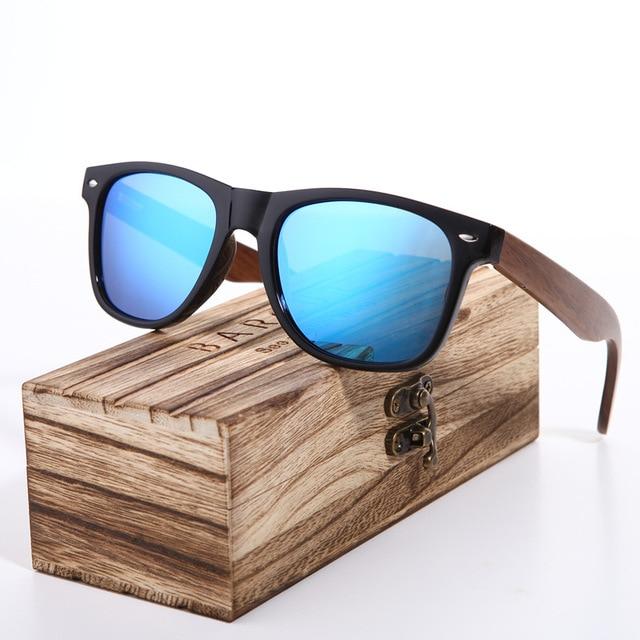 Paire de solaire en bois