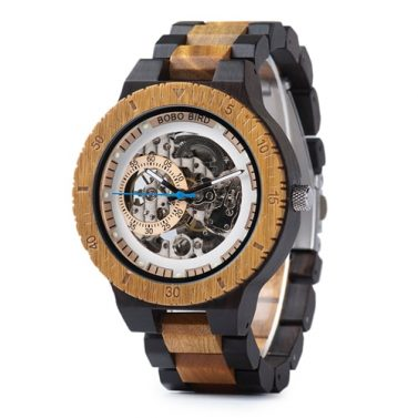 Montre en bois Washington
